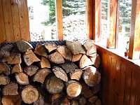 Předsíň se dřevem