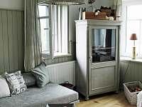obývací pokoj - chata ubytování Kovářská