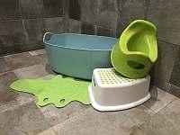 dětské vybavení koupelny