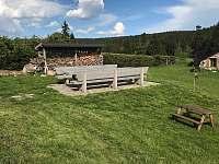 venkovní sezení - Abertamy - Hřebečná