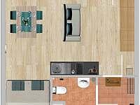 Apartmán Klínovec 365 - k pronajmutí Loučná pod Klínovcem