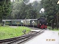 Fichtelbergbahn - Loučná pod Klínovcem