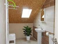 apartmán koupelna - ubytování Klíny - Rašov