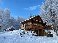 Hlavní pohled zima - chata k pronájmu Jáchymov - Mariánská