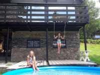 ubytování s bazéném v Krušných horách