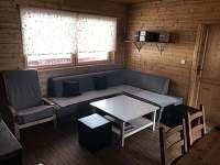 Obyvaci pokoj - chata ubytování Klíny