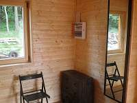 předsíň - chata ubytování Klíny