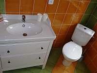 koupelna - chata k pronájmu Český Jiřetín