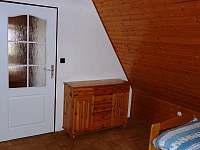 ložnice - pronájem chaty Český Jiřetín