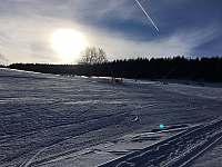 """Ski areál Český Jiřetín - sjezdovka """"u Kostela"""" -"""