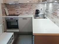 Kuchyň - pronájem apartmánu Jáchymov