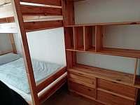 Ložnice 1 - apartmán k pronajmutí Jáchymov
