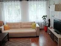 Obývací pokoj - apartmán ubytování Jáchymov