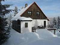 Levné ubytování Vodní nádrž Kamenička Chata k pronajmutí - Svahová