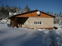 chata v zimě - ubytování Svahová