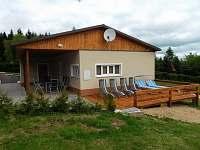 Otevřená terasa - chata ubytování Svahová