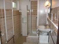 Koupelna - chata ubytování Bublava