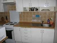 Kuchyň - chata k pronájmu Bublava