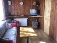 Obývací pokoj - pronájem chaty Abertamy