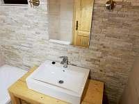 koupelna - chata k pronajmutí Mariánská