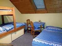 pokoj 5 patro - pronájem chaty Abertamy