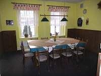 společ.místnost kulečník a šipky