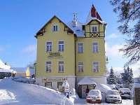 zimní foto vily