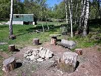 místo pro táborák - pronájem chaty Tisá