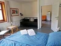Apartmán pro 4-5 osob ložnice - ubytování Horní Blatná
