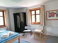 Apartmán pro 4-5 osob ložnice - k pronajmutí Horní Blatná
