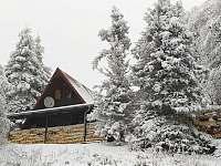 horská chata na hraně vrcholu Komáří hůrky s výhledy do okolí - pronájem Horní Krupka