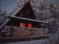 připraveno na zimu - chata ubytování Horní Krupka
