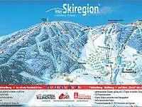 Areál Klínovec - Fichtelberg na společný Skipass 3 km - Boží Dar