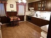 Kuchyň I. - pronájem chaty Boží Dar