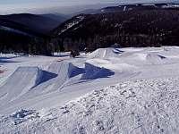 Skiareál Neklid 2 km - Boží Dar