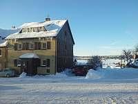 Zima - pronájem chaty Boží Dar