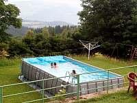 bazén - chalupa k pronájmu Dolní Halže