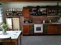 kuchyně - pronájem chalupy Dolní Halže
