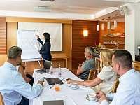 Konferenční prostor s technikou k dispozici - Boží Dar