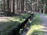 V roce 2017 byl Blatenský příkop prohlášen národní kulturní památkou - Boží Dar