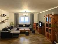 Společenská místnost - chata ubytování Mikulov v Krušných horách