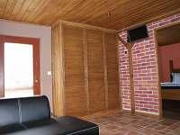 Obývací pokoj. - apartmán ubytování Stříbrná