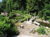Zahrada. - apartmán k pronájmu Stříbrná