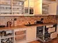 Kuchyň - chata k pronájmu Loučná pod Klínovcem - Háj