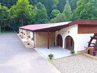 Chaty a chalupy Rudolický rybník v penzionu na horách - Bečov