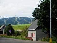 Výhled od chaty na Klínovec