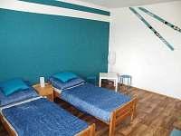 Modrý pokoj - ložnice