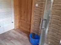 koupelna - chata k pronajmutí Kovářská