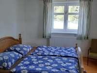 ložnice - chata ubytování Kovářská