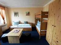 2-lůžkový pokoj + možná 2xpřistýlka